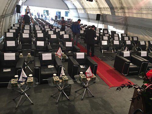 افتتاحیه خط تولید ترمز تارا
